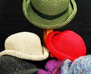 Crochet hats etc