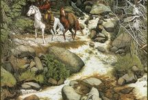 Bev Dolittle Art / pieces that live in my home  Southwestern furnishings / by Carol Linhart