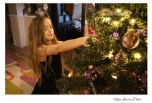 beautiful girl with christmas tree / beautiful girl with christmas tree