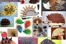 prace plastyczne - jesień