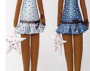 Panenky z textilu