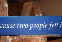 Love Wooden Signs / Great Gift Ideas for Valentine's Day!  / by Wooden Signs Company, LLC