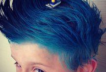 cheveux drole