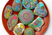 πέτρες ζωγραφιστές
