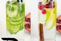 Mint Detox Waters / Pinning the best recipes for detox waters to detox your system.