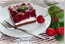 Cseresznyés sütemények