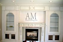 Modern Fireplace Mantels / Modern Fireplace Mantels, Classic Living Room Fireplace Mantels, Family Room Fireplace Mantels, Fireplace Mantels Installation