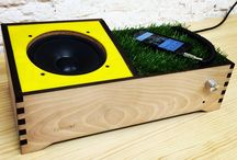 Grass Speaker. by Juan Fortuny / Speaker 40watt compatible with evering who make music.