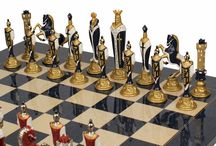 Chess Board with Metal Chess Men / Browse Excellent metal chess sets, chessmen and other metal chess sets from the finest craftsmen creating each piece with expertise. Our stylish metal chess sets are available in a wide range of metals including brass, copper, steel other alloys.