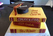 Graduation/Retirement cakes
