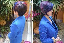 Reposição Molecular Salão Gê Beleza Indaiatuba.  Um tratamento para os cabelos - Liquid Hair. Wella.