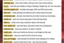 Websites I may need.,