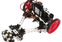 TETRIX Robot Build Instructions / A variety of build projects with step by step instructions using the TETRIX Robotics building systems.