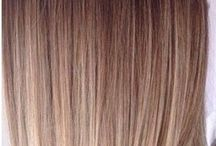 blonde brown ombre