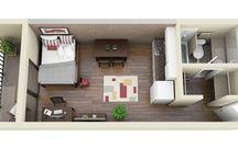 Planos apartamento pequeño