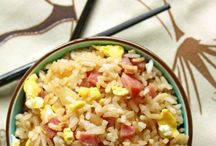 rice and pasta dishes