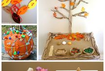Fall Fun Birth to 5 / The leaves may be falling off the trees but we won't fall off track of physical activity, staying healthy and play, play, play!
