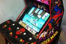 Arcade game warehouse! / A look at some nostalgic games in storage. Refurbished and ready for use once again in your home or business!