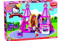PlayBig Bloxx Hello Kitty Amusement Park Building Blocks Sets of 3 / They  are: Hello Kitty Amusement Park,Funpark Carouse and Swing