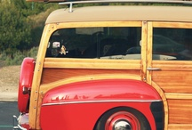 Woody Beach Cars