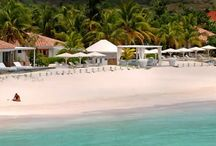 Hotel Emeraude Plage / Emeraude Plage is a beachside hotel perfectly located in the heart of St. Jean. Lush gardens of palm trees, Bougainvillea and Hibiscus create an atmospher More Infos http://www.saint-barths.com/uk-31-sejour-hotel-guide-accommodations-st-barts-emeraude-plage-%28boutique-%29.html