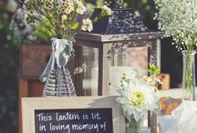 In memory of my dad wedding ideas / by April Lark
