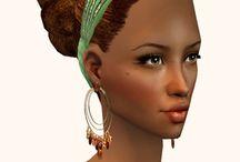 {Sims 2} Natural Hair
