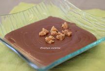 Chocolat / Dessert à base de chocolat