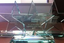 #BIUKAOY14 Trophies / Here are our trophies for the #BIUKAOY14 category winners!!!