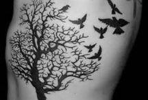 drzewo/ptaki