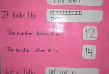 kindergarten numbers