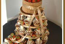 cupcake/cake towers
