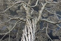 Wire tree / Árvores de arame