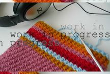 knitting/crocheting  / by Jill Pointer
