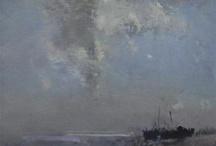 sea painted