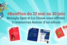 #BONPLAN Beneylu Spot pour l'école primaire / Chaque semaine un bon plan pour les classes de primaire !