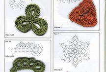 Flor estrellada / Crochet