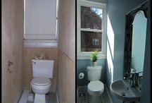 Really small bathroom ideas / by Jo-anne Cambridge