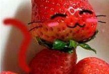 jahody / Carving a netradiční servírování