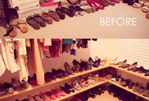 Shoe Organization / Free and Low Budget Tips and Tricks for Organizing and Caring For Your Shoes