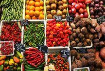Colourful Boqueria Market