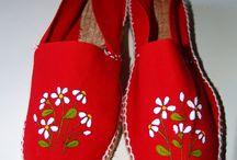 Zapatos artísticos