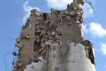 파괴된 콘크리트