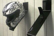 Helmet Storage ideas