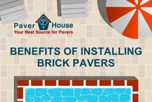 Benefits of Installing Brick Pavers Tampa FL / Paver House shares the Benefits of Installing Brick Pavers. The cracking of concrete leads to a long term cost far greater than installing brick pavers.