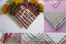 papierové pletenie