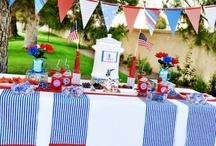 Red, White and Blue stuff / by Jodi Tarbet Woodside