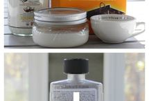 Natural Cleaning / Natural cleaning DIY recipes