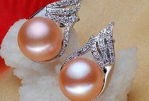 Silberohringe aus 925er Sterling Silber Süßwasser Perle Cristal Zirkonia 23,90 Euro