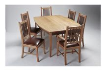 Dining Tables / Fine handcrafted dining tables made from solid Appalachian hardwoods make any dining room look elegant and one of a kind.